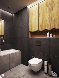 Projekt wnętrza mieszkania w Wiślanych Tarasach. - zdjęcie od Dream Design - Łazienka - Styl Eklektyczny - Dream Design