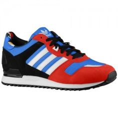 Clearance Store Adidas Originals ZX 700 Mens Trainers Bluebird White Collegiate Red Black Style Code D65281 Colorways