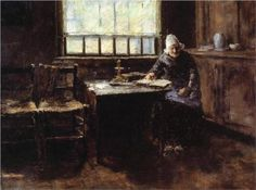 When One is Old - William Merritt Chase 1883