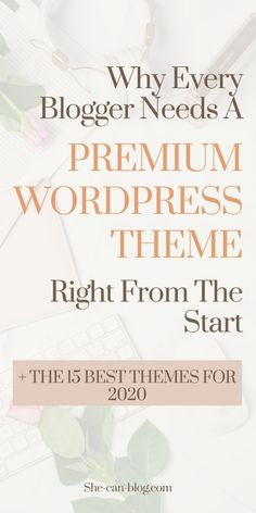 Are you looking for the most stylish and elegant feminine premium WordPress themes? I've created a list for you with the 15 best premium WordPress themes, with the best features, endless customization options, great customer support and documentation, and the most beautiful and professional feminine look!
