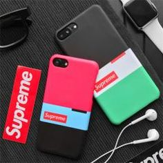 44d805ca69 シュプリーム iPhone8/8PLUS ケース ジャケット トライカラー iPhone7/7plus ペアカバー 男女共通 アイフォン