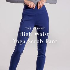adef36d956b77 Flattering high waist. The yoga pant silhouette you love. So. Much. Stretch
