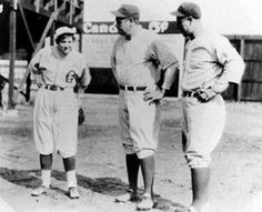 "Wow! 17 year old pitcher Jackie Mitchell struck out both Babe Ruth and Lou Gehrig in a single game in 1931. Soon after, her contract was voided, citing the reason that baseball was ""too strenuous"" for women."