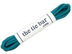 COLORED SHOELACES - DEEP TEAL | Ties, Bow Ties, and Pocket Squares | The Tie Bar