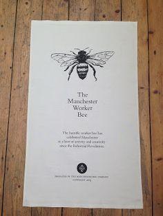 Manchester Worker Bee Tea Towels