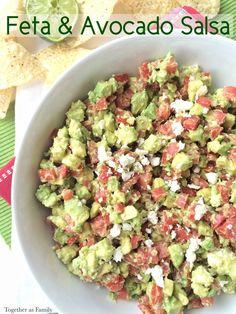 Please welcome my contributor Jessica as she shares her recipe for Feta & Avocado Salsa!