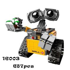 Building Blocks Model 16003 Compatible with lego IDEA WALL E 21303 Figure Educational Toy for Children Gift for Boy Girl