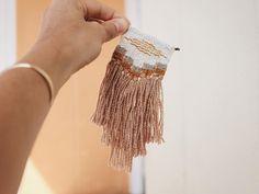 woven necklace pendant by Ellen Bruxvoort | @ellenbeezy