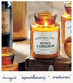 * Apothecary - vetiver and cardamom