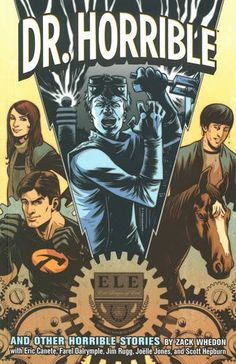 "Dr. Horrible And Other Stories Comic Book Trade Paperback ""THEY'RE NOT GOING TO SAY ANYTHING IN THE PRESS... Curious about the previous battles between Captain Hammer and Dr Horrible? This collection of stories was written by Zack Whedon and is a must for any Dr Horrible fan.   #whedon #josswhedon #merch #whedonverse #drhorrible #singalong #blog #comic #book #paperback"