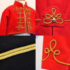 Kids Circus Ringmaster Costume Red tailcoat with por AtelierSpatz