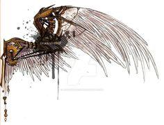 DeviantArt: More Like Lucifer's Wings - Specimen I by AngelaSasser