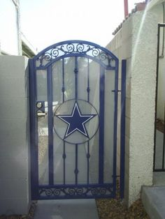 Dallas Cowboys door my husband would flip out!!!lol