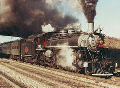 Savannah & Atlanta #750 running an excursion on the New GA Railroad.