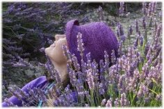 chapéu lilás