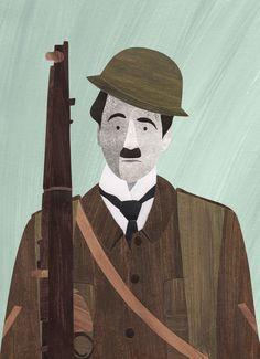 Chaplin. Stacey Knights Illustration