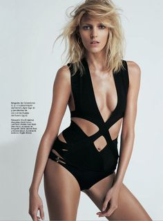 Anja Rubik is Sexy Cool for Eric Guillemain in S Modas April 2013 Cover Shoot | Fashion Gone Rogue: The Latest in Editorials and Campaigns
