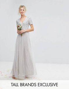 Wedding Party Dress Special Section Hottest Mother Of The Bride Dresses Silver 2019 Wedding Guest Dress Plus Size Beads Farsali Long Chiffon Evening Dinner Gowns Weddings & Events