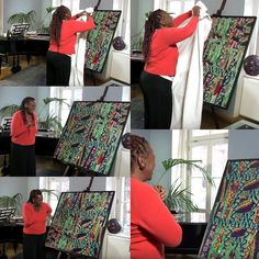 """http://www.oubey.com/journey/encounters/liz-howard """"It´s like he left a secret #code, and I have to find out now what´s the #secret code inside this #painting. It´s like a #puzzle"""", commented #Mezzosopranist #LizHoward on OUBEYs #PhotonPainting titled """"Falling Angel"""" (#4 at #YouTube, 1176 #views/ #English & #German). #Angel #FallenAngel #Engel #singing #art #instaart #artstagram #Kunst #Kunstbegegnung #Encounter #OUBEY #MINDKISS #oubeymindkiss #painting #artwork #woman #love #fun"""