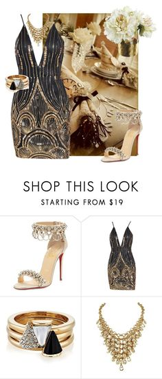 """""""Elegant"""" by saint-germain ❤ liked on Polyvore featuring Christian Louboutin and Brixton"""