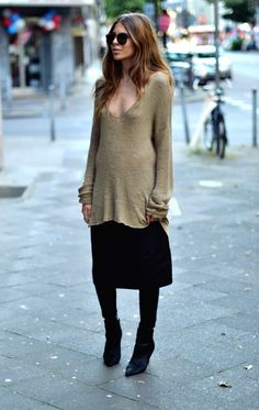 cruisy knit. Maja in Copenhagen. #MajaWyh