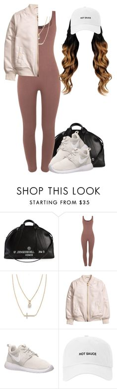 """""""Never Loved Us"""" by queen-tiller ❤ liked on Polyvore featuring Golden Goose, Crislu and NIKE"""
