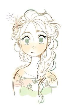 frozen y . - JElsa, KristAnna, Sven and Olaf - Disney Disney Art Style, Disney Fan Art, Disney Love, Frozen Art, Disney Frozen Elsa, Disney Sketches, Disney Drawings, Drawing Disney, Chibi Manga