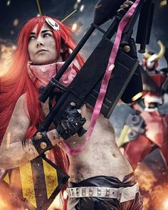 I love it  #stunning #cosplay #costume #damn #adorable #cool #beautiful #gorgeous #cute #photography #gurranlagann