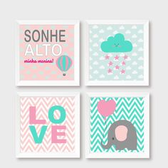 Personalized Baby Nursery Decor & Gifts – Canvas & Wall Art Prints – Baby Blankets – Kids Bed and Bath Wall Art Nursery Canvas, Baby Nursery Decor, Baby Decor, Girl Nursery, Nursery Art, Baby Posters, Baby Frame, Valentine Theme, Diy Wall Art