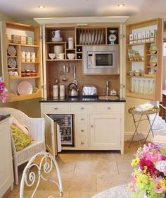Tiny cozy but very useful kitchen