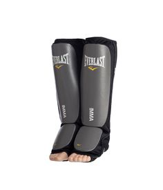 The Everlast MMA Shin Guards provide protection during MMA training. They include features such as non-slip texture on the bottom of the foot to provide traction and synthetic leather surrounding high density foam to give shin protection. The shin guards Martial Arts Gear, Martial Arts Workout, Mixed Martial Arts, Taekwondo, Kickboxing, Jiu Jitsu, Karate, Muay Thai Gym, Best Lego Sets