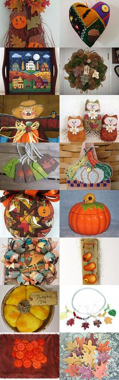 FALL Decorating HDM Style by Maryann on Etsy--Pinned with TreasuryPin.com