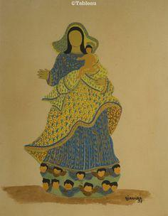 Djanira. Nossa Senhora da Conceição. 34x26 cm
