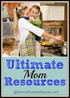 Ultimate Mom Resources - #homeschool resources and encouragement from Rebecca at Moms Mustard Seeds and other moms. PLUS, an Apologia giveaway!