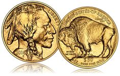 The Gold Buffalo was launched to the public in 2006. Also called American Buffalo, this is the first 24 karat gold coin minted by the US Mint. This Buffalo Gold coin becomes a subject of interest for both collectors and gold investors.