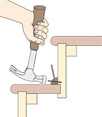 Best 13 Best Fixing Squeaky Stairs Images Stairs Repair 400 x 300