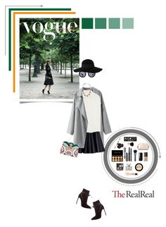 """Jet Set Style With DJ Mia Moretti & The RealReal: Contest Entry"" by aleksandra-lisavac ❤ liked on Polyvore featuring moda, Miu Miu, MSGM, Yves Saint Laurent, DANNIJO, Valentino, Eugenia Kim, Bobbi Brown Cosmetics, Gucci y le top"