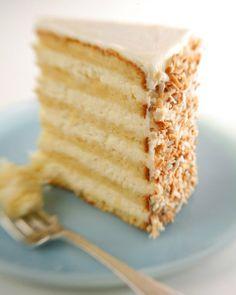 Ultimate Coconut Cake Recipe Courtesy Robert Carter From The Peninsula Grill, Charleston, South Carolina (Martha Stewart Show July Summer 2007)