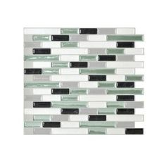 Smart Tiles, 10.25 in. x 9.125 in. Muretto Prairie Mosaic Decorative Wall Tile (12-Pack), SM1061-12 at The Home Depot - Mobile