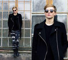 Zero Uv Sunglasses, Junkyard Xx Xy Cloud Print Trousers