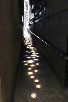 """""""GINZA 2nd Ave.2"""" by Tange Associates, 2009, in Tokyo #japan #light #narrow…"""