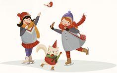 2014 /happy new year by SİBEL AÇIKALIN AKGÜN, via Behance