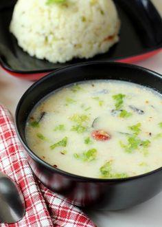 Farali Kadhi Recipe (Vrat ki Kadhi): A healthy tasty Indian soup for Fasting Veg Recipes, Indian Food Recipes, Vegetarian Recipes, Cooking Recipes, Fast Recipes, Recipies, Kadi Recipe, Farali Recipes, I Love Food