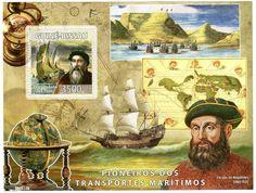 Fernão de Magalhães (1480-1521) , portuguese navigator - Guinea-Bissau 2008