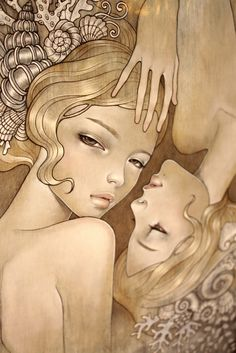 Audrey Kawasaki: I need one of her prints in my house!!