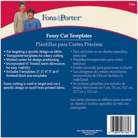Fons and Porter Fussy Cut Templates - Click to enlarge