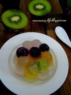 Butter . Flour & Me      爱的心灵之约: Konnyaku Fruits Jelly (鲜果果冻)
