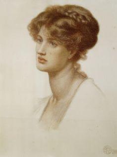Marie Spartali Stillman by Dante Gabriel Rossetti