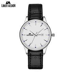>> Click to Buy << Liber Aedon White Dial Fashion Leather Band Strap Quartz Leisure Classical Elegant Candy Easy Read Ladies Women Watches #Affiliate