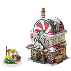 "Department 56: Products - ""Peppermint Pete's"" - View Lighted Buildings"